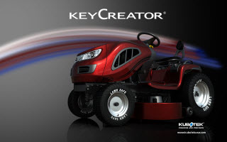 Tractor designed in KeyCreator Direct CAD