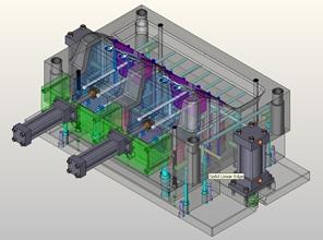 KeyCreator 3D Direct CAD Mold Model