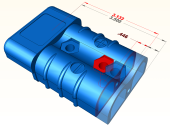 Connector Designed in KeyCreator Direct CAD software