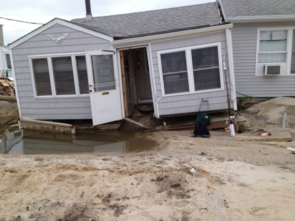 Jersey Shore House destroyed by Sandy