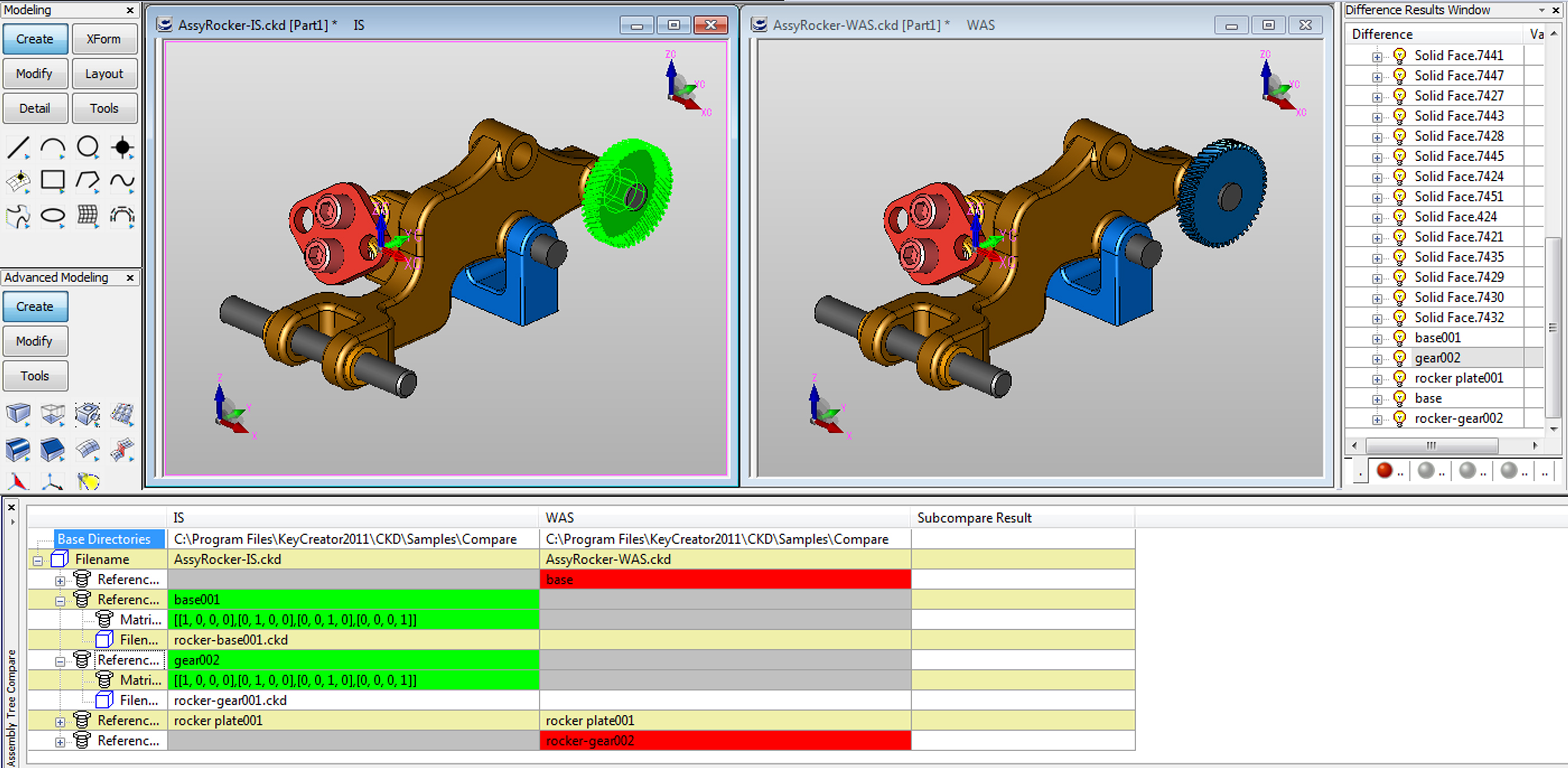 ECO Manager Compare Assemblies